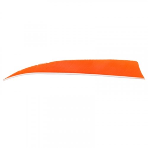 "Naturfeder Shield 4"" orange"